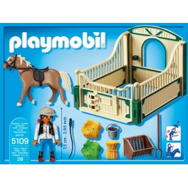 Playmobil Country Riding School Horse with Stall