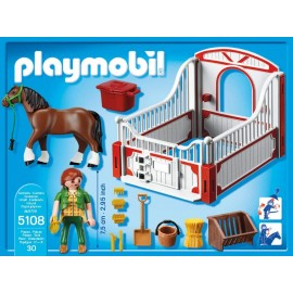 Playmobil Country Shire Horse with Stall