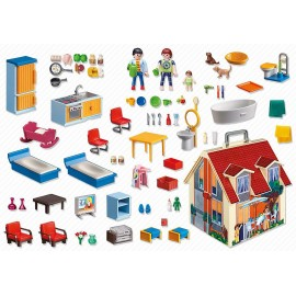 Playmobil Take Along Modern Dolls House