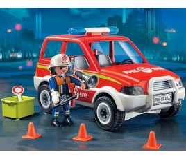 Playmobil Fire Chief's Car