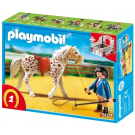 Playmobil Country Speckled Horse with Stall