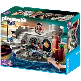 Playmobil Pirates Soldiers Fort with Dungeon