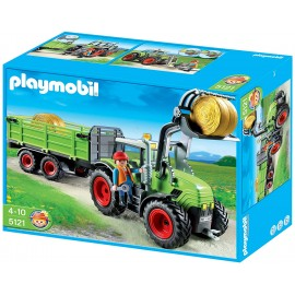 Playmobil Country Farm Tractor with Trailer