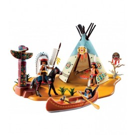 Playmobil Super set­ - Native American Camp