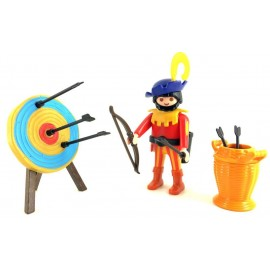 Playmobil Figure Set Archer with Target