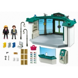 Playmobil City Action Bank with Safe