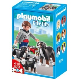 Playmobil Mountain dogs with Puppy