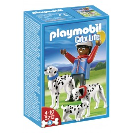Playmobil Dalmatian with Puppy
