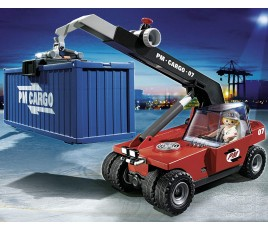 Playmobil Cargo Transporter with Contianer
