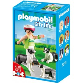 Playmobil Border Collie with Puppy