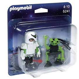 Playmobil Duo Pack Space Man with Spy Robot
