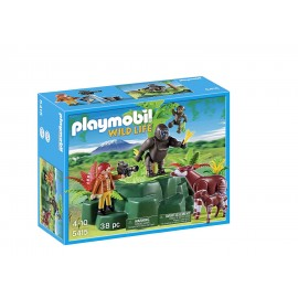 Playmobil Gorillas and Okapis