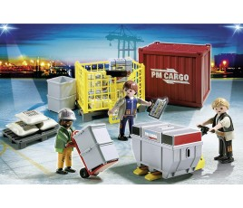 Playmobil Cargo Loading Team