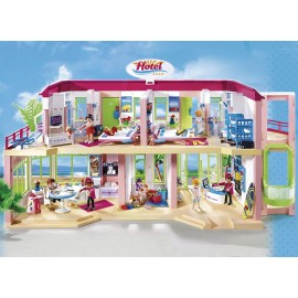 Playmobil Summer Fun Large Furnished Hotel