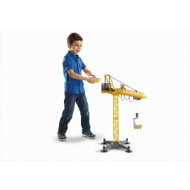 Playmobil Large Construction Crane with Infra-Red Remote Control - Multi-Coloured