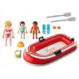 Playmobil Swimmers with Dinghy