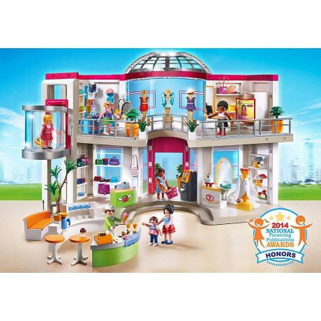 Playmobil Furnished Shopping Centre