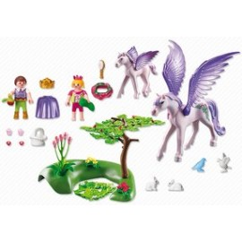 Playmobil Royal Children with Pegasus and Baby