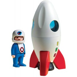 Playmobil 1.2.3 Moon Rocket